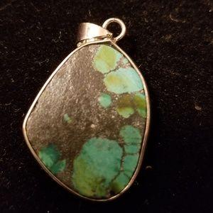 Native American Sterling Silver Pendant
